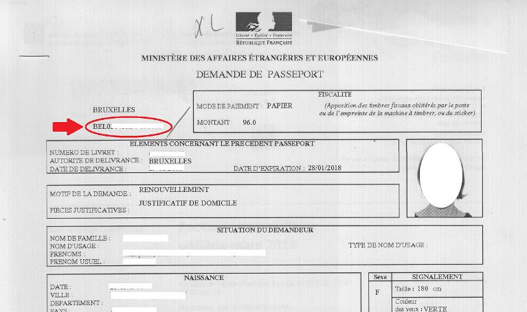 Le Passeport Consulat General De France A Bruxelles