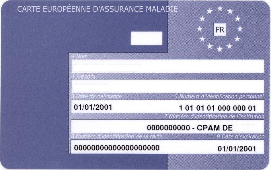 carte d assurance maladie européenne La carte européenne d'assurance maladie   Consulat Général de